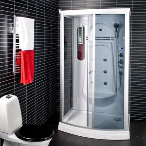 Kabina prysznicowa z hydromasażem parowa 6130