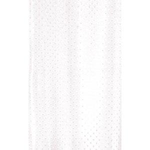 Zasłona łazienkowa STAR biała