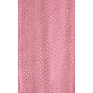 Zasłona łazienkowa STAR ciemno różowa