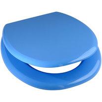 Deska WC MILJO J. niebieska