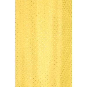 Zasłona łazienkowa STAR żółta