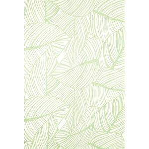 Zasłona łazienkowa LEAVES zielona