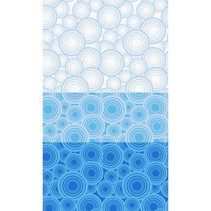 Zasłona łazienkowa BLUE RING