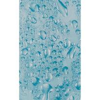 Zasłona łazienkowa WATER jasno niebieska