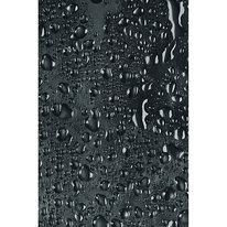 Zasłona łazienkowa WATER czarna