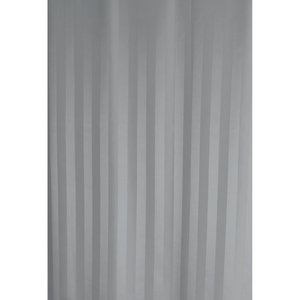 Zasłona łazienkowa ZEBRA szara