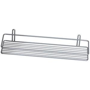 Półka łazienkowa prosta I srebrna