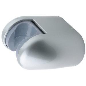 Uchwyt ścienny na słuchawkę prysznicową srebrny
